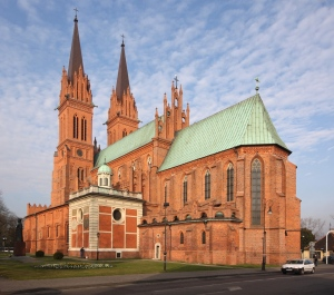 Cathedral in Wloclawek, Poland